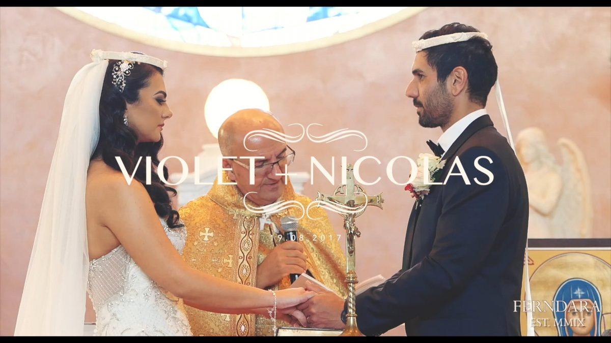 Violet + Nicolas